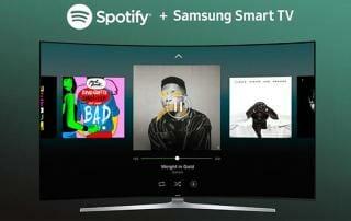 Spotify App Update für Samsungs Smart TVs mit Tizen OS