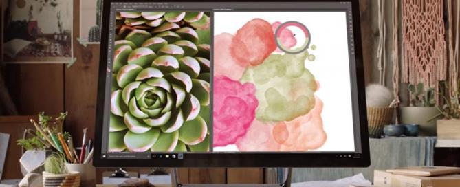 Surface Studio mit 4.5K Touch-Display
