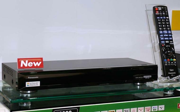 UHD Blu-ray Disc Recorder von Panasonic