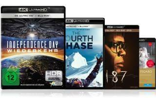 4K Blu-ray Neuheiten KW47 2016