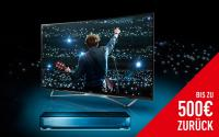 500 Euro Cashback auf Panasoni Premium Fernseher und UHD Blu-ray Player