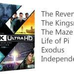 6 UHD Blu-ray Box von Fox für umgerechnet 47 Euro