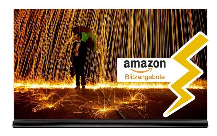 4K OLED Fernseher in den Amazon Blitzangeboten