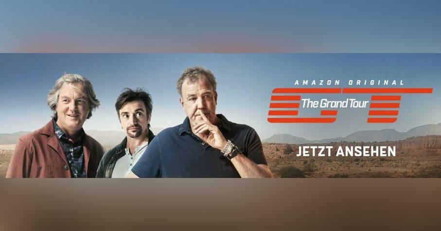 Amazon The Grand Tour Start