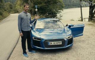 Audi R8 Ausflug auf UHD1