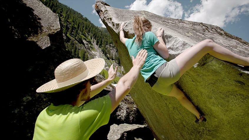 """Die Trendsportart """"Bouldern"""" ist mittlerweile eine Olympische Disziplin"""