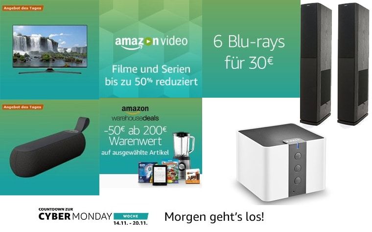 Cyber Monday Countdown Tag 7 (Sonntag)