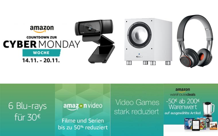 Cyber Monday Deals Countdown Samstag