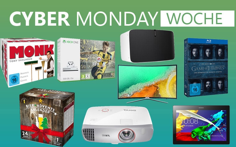 Cyber Monday Deals Angebote Montag