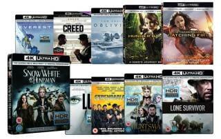 Günstige 4K Blu-ray Importe aus UK