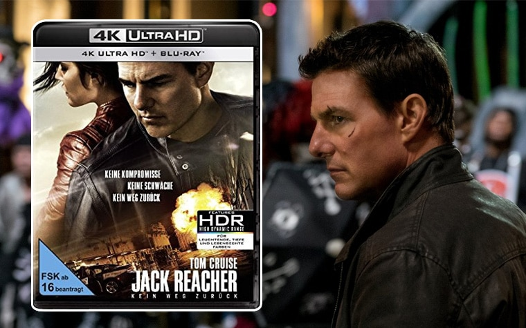 Jack Reacher 4K Blu-ray