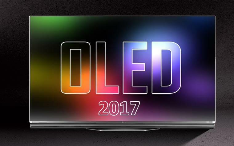 LG 2017 OLED Fernseher heißen B7, C7, E7, G7 und W7 – erhältlich mit 55 bis 77Zoll