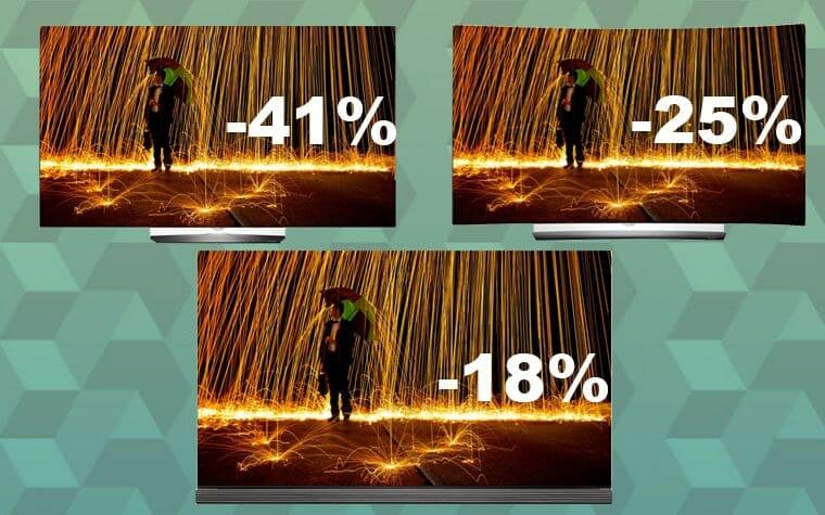 OLED Fernseher bis zu 41 Prozent günstiger