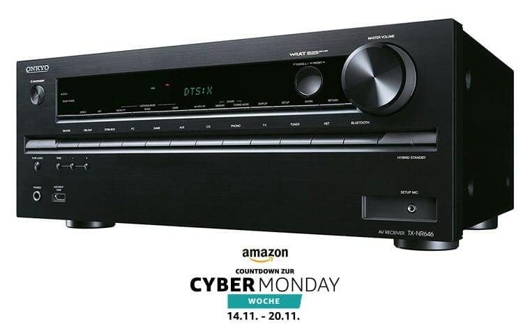 Onkyo TX-NR646 zum Bestpreis im Countdown zur Cyber Monday Woche