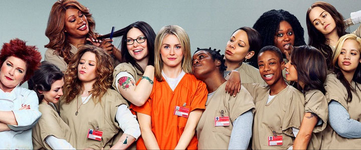 Orange is the new Black 4K Serie Netflix