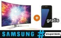 #Superdeals - Gratis Galaxy Edge S7 oder Tablet beim Kauf eines SUHD UHD TV von Samsung