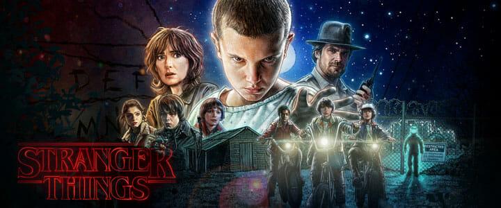 Stranger Things 4K Serie Netflix