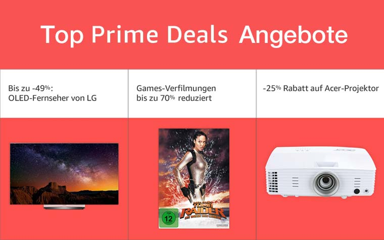 Top Prime Deals Angebote
