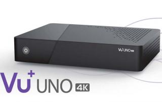 VU+ UNO 4K Satellitenreceiver