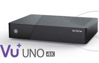 VU+ UNO 4K Satellitenreceiver