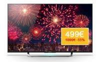 Sony KD-43x8505C zum Bestpreis von 499 Euro