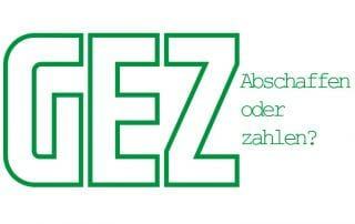 Die AfD möchte die Rundfunkgebühren (GEZ) abschaffen