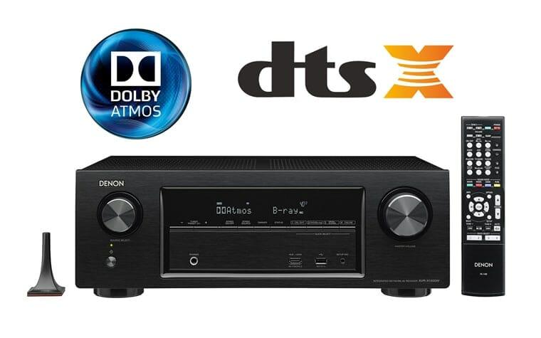 Denon AV-Receiver für günstige 349 Euro mit Dolby Atmos und DTS:X
