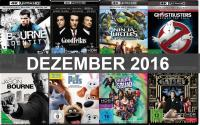 Dezember 2016 4K Blu-ray