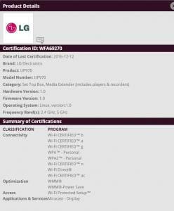 LGs 4K Blu-ray Player UP980: Noch nicht offiziell bestätigt, aber so gut wie sicher