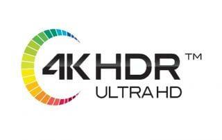 4K HDR Ultra HD Logo