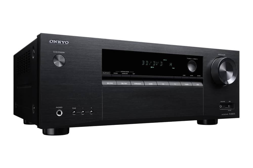 Onkyo TX-SR373 günstiger AV-Receiver mit 4K & HDR