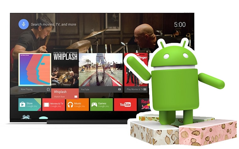 Android TV 7.0 Update für Sonys Smart-TVs