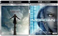 Assassin's Creed und Das Morgan Projekt erscheinen auf UHD-Blu-ray