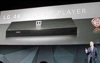 LG UP970 4K Blu-ray Player mit Dolby Vision