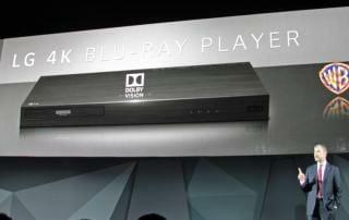 LG UP970 4K Blu-ray Player mit Dolby Vision
