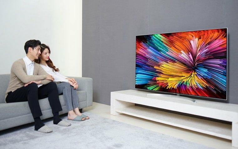 LG setzt bei den Super UHD TVs aus 2017 Nanokristalle ein