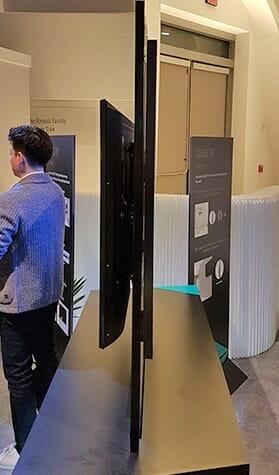 samsung qled 4k fernseher q9 q8 offiziell vorgestellt ces 2017. Black Bedroom Furniture Sets. Home Design Ideas