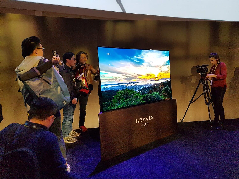 """Sonys A1 OLED Modellreihe setzt auf """"Crystal Sound"""" Displays"""