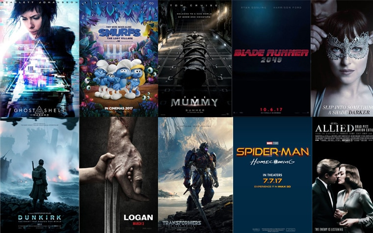 4K Blu-ray Highlights 2017
