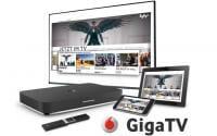 Vodafone GigaTV mit 4K-Kabel-Receiver