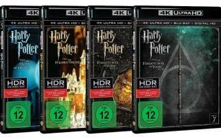 Harry Potter 4K Blu-rays mit Dolby Vision?