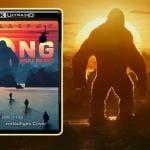 Kong Skull Islang 4K Blu-ray