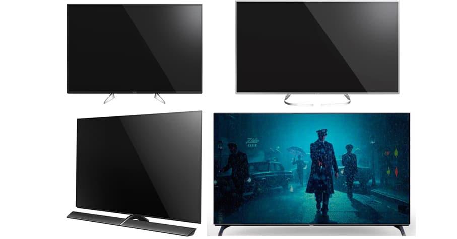 Panasonic 4K TV Lineup