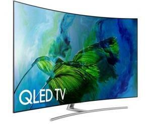 Die Q8C Serie mit gebogenem (curved) Display soll sich lt. Samsung am besten verkaufen
