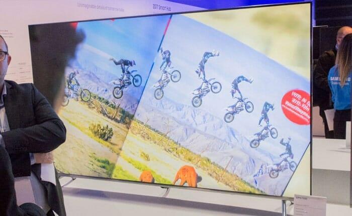 Samsung MU7000 mit 82 Zoll. Bildquelle: tek.no