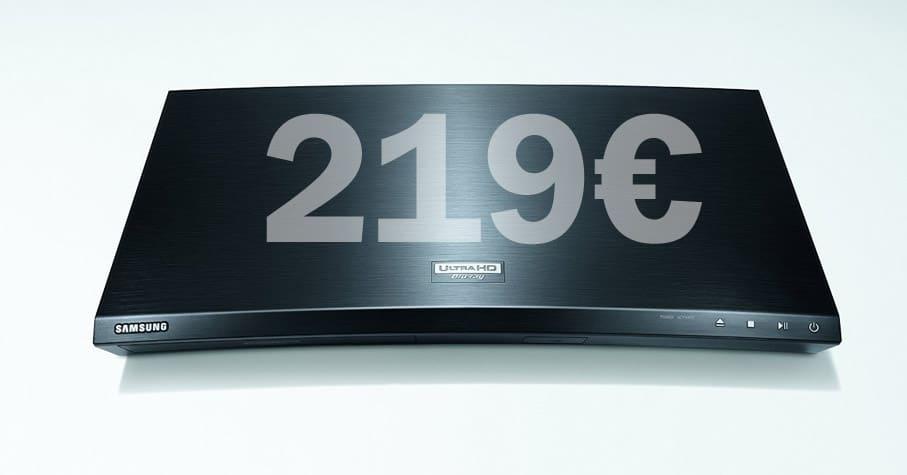 Samsung UBD-K8500 zum Bestpreis von 219 Euro!