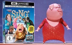 Sing 4K Blu-ray Dolby Atmos