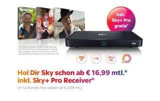 Sky Plus Pro 4K Receiver