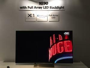 Das Bild von trustedreviews.com beweist, die XE90 Serie hat wohl ein direktes LED Backlight