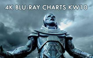 4K Blu-ray Charts Kalenderwoche 10